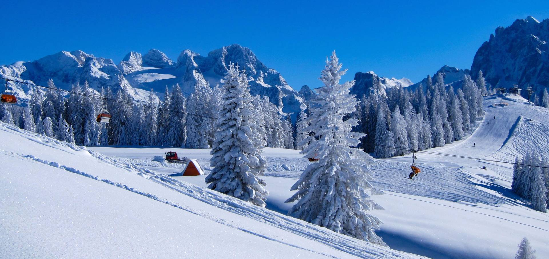 Winter im Salzburger Land